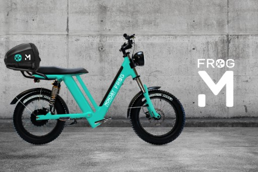 Frog Announces Strategic Partnership With Monday Motorbikes