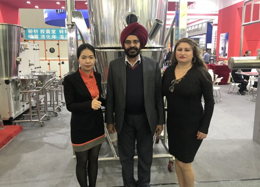 Pharmaceutical Equipment Leader Senieer Celebrates Success Showing Fluid Bed Dryers at 56th CIPM China 2018