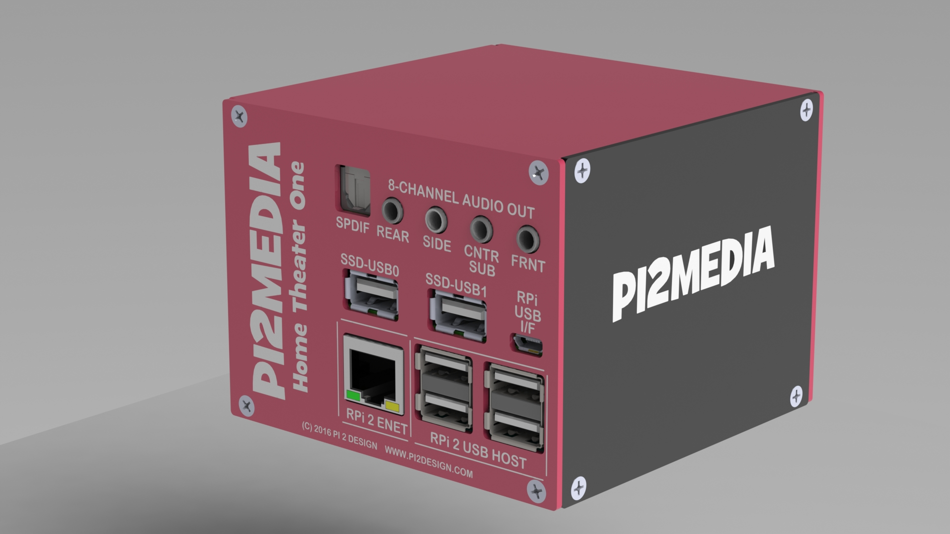 Pi2media Ht1 Surround Sound Home Theater Pc Launches On The Crowdfunding Site Indiegogo Newswire