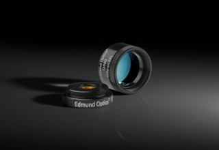 TECHSPEC® Mounted MgF2 Coated Plano-Convex (PCX) Lenses