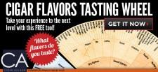 Cigar Flavor Wheel from Cigar Advisor