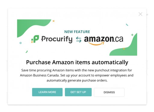 Procurify Now Supports Amazon Business Integration in Canada