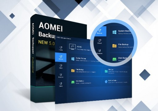 AOMEI Backupper 5.0 Says Hello to New Interface and Goodbye to 'Retro'