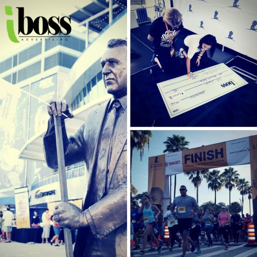 iBoss Advertising Sponsors St. Jude Children's Research Hospital Walk/Run to End Childhood Cancer