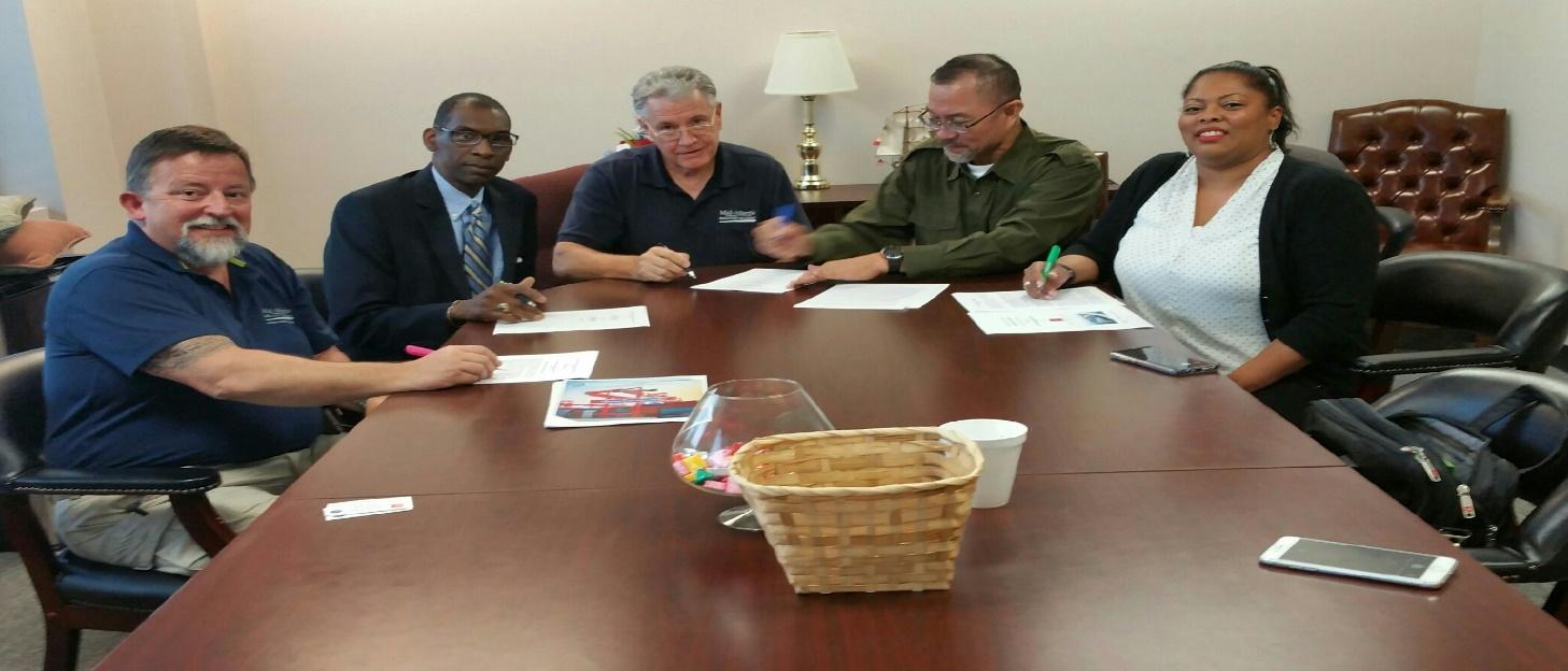 Photo Caption: Contract signing between MAMA and ASIB-CTIP.