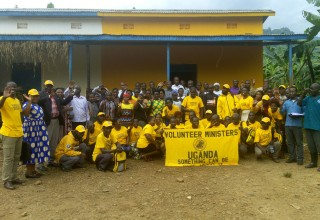 The region has donated a Volunteer Ministers resource center