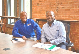 Lee and Al Evans of ReWire Energy