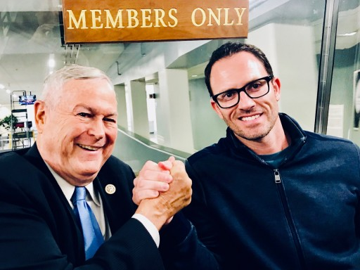 BudTrader CEO Meets President Trump, Members of Congress to Discuss Cannabis Reform