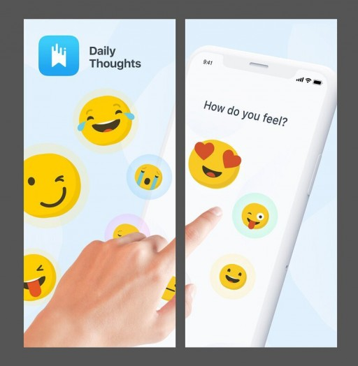 'My Daily Thoughts' Provides a Creative and Beneficial Outlet to Record Daily Notes, Moods, Thoughts, and Inspirations
