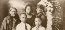 Indigenous American Family