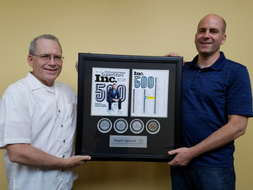 Shopper Approved to Receive Prestigious Award at the Inc. 500 Awards Gala