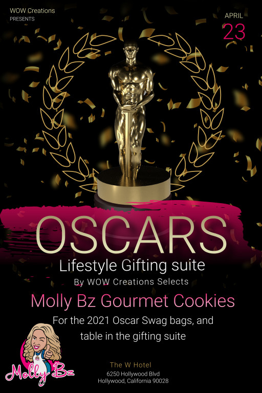Molly Bz Selected by WOW! Creations for Oscar Gift Bags April 2021