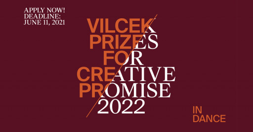 Vilcek Foundation Opens Applications for 2022 Creative Promise Prizes in Dance
