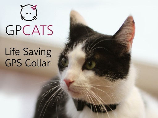 GPCATS - the Only Service Free Life Saving GPS Tracking Device Through Kickstarter