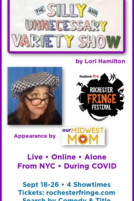Comedian Lori Hamilton Performs Live One-Woman Show From New York at 2020 Virtual Rochester Fringe