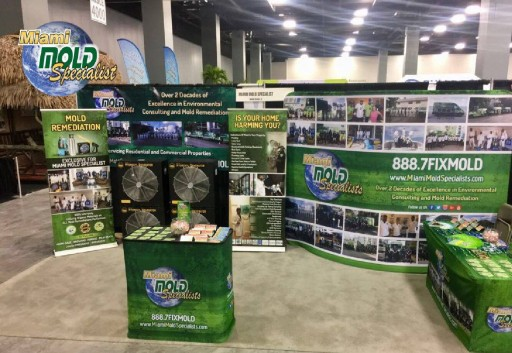 Miami Mold Specialists Raises Mold Awareness at Prestigious South Florida Home Design and Remodeling Show