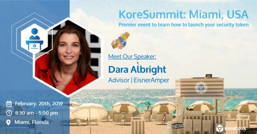 Global Fintech Thought Leader to Speak at KoreSummit Miami 2019