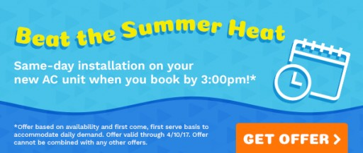 All Year Cooling's Latest Coupon Includes Same-Day Installation