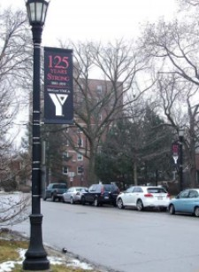 YMCA Streetlight Banner