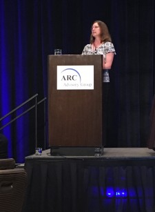 Laura Sheets of SRNS presents at ARC Forum