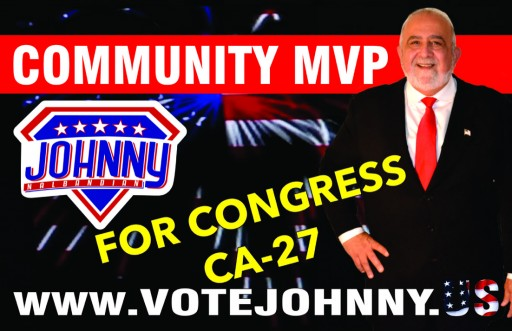 Passionate Patriotism is in the Air at the 27th Congressional District of California, USA