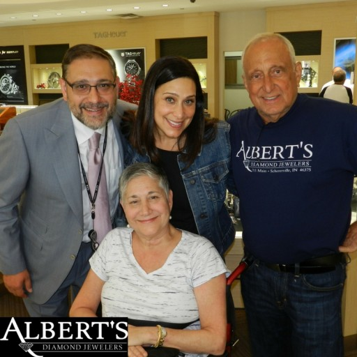 Indiana Retailer Albert's Diamond Jewelers Hosts 13th Annual Auction for MS Research