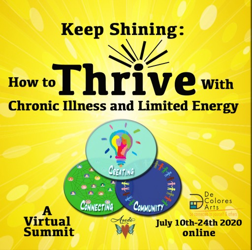 Lisa Sniderman, aka Aoede, Offers Free Online Summit: How to Thrive With Chronic Illness and Limited Energy