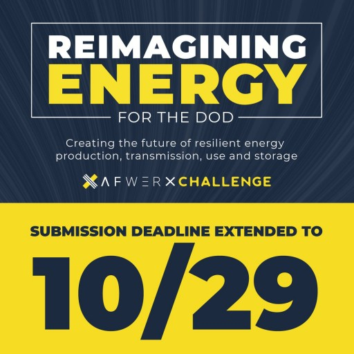 AFWERX Seeking Solutions for Department of Defense Reimagining Energy Challenge