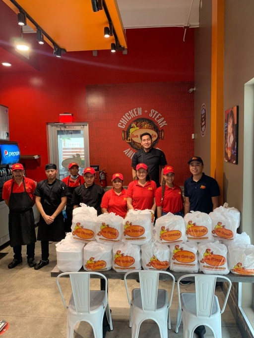 La Granja Restaurants Gives Out 500 Meals at Site of Champlain Towers in Surfside, Miami