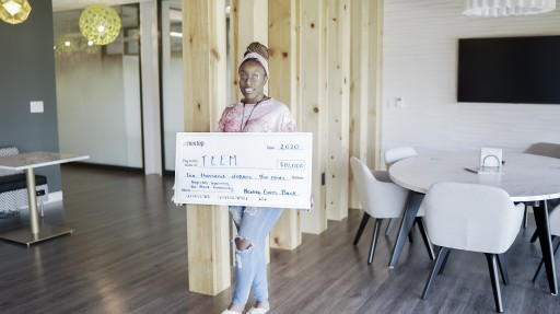 Nextep Charitable Foundation Donates $10,000 to TEEM to Support Local Black Community
