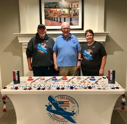 Country Club at Woodland Hills Makes Landmark Donation to Local Honor Flight Organization