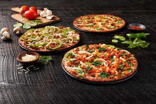 Donatos Delivers Three Cauliflower Crust Signature Pizzas