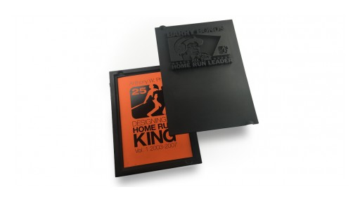 Innovative 3D Printed Barry Bonds Book Packaging Introduced by Anthony Phills