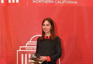 "Dina Katabi -  recipient of the 2018 AI Innovator ""Trailblazer"" Award"