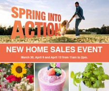 Spring Into Action with Olson Homes