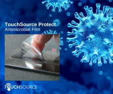 TouchSource Antimicrobial Film for Digital Signage
