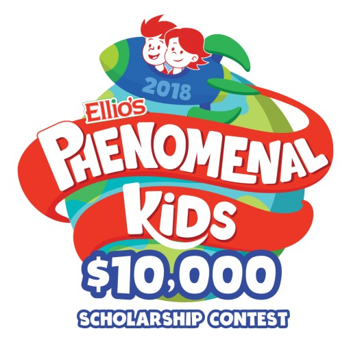 Ellio's Pizza to Host Second Annual $10,000 Phenomenal Kids Scholarship Contest