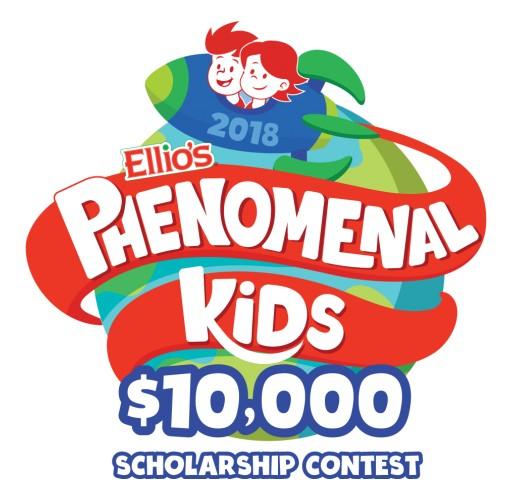 Ellio's Pizza to Host Second Annual $10,000 Phenomenal Kids Scholarship Contest