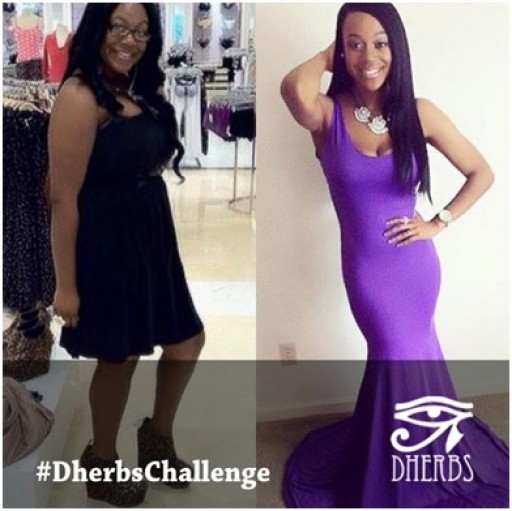 Dherbs Launches the DherbsChallenge.com to Show Off Their Customers' Amazing Weight Loss Photos