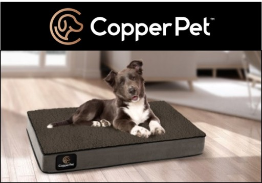 CopperPet™ Dog Beds Protect Against Odors & Mildew