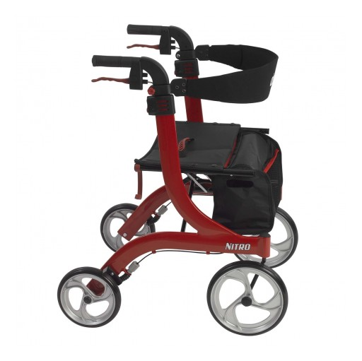 Home Health Care Shoppe Walkers and Rollators - Wheels for Aging Knees