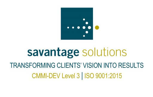Savantage Solutions Achieves ISO 9001:2015 Certification