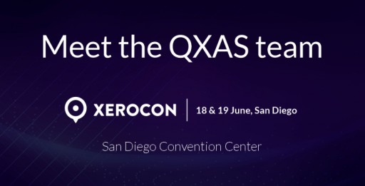 Meet the QXAS Team at XeroCon San Diego 2019 From June 18 to 19