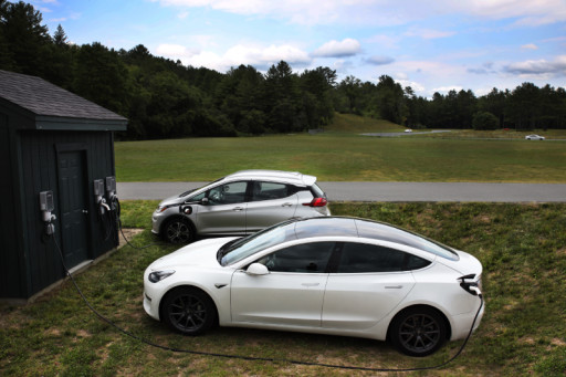 SKYCHARGER and Charged at Home Sponsor MassTuning's EV Track Day