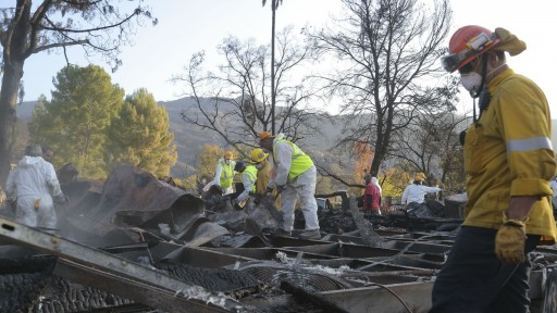 How the Impact of the Woolsey Fire Made One Volunteer a Believer