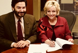 Jonathan Koppell, Dean of the Watts College of Public Service and Community Solutions at Arizona State University and Linda J. Walder, Founder and Executive of The Daniel Jordan Fiddle Foundation