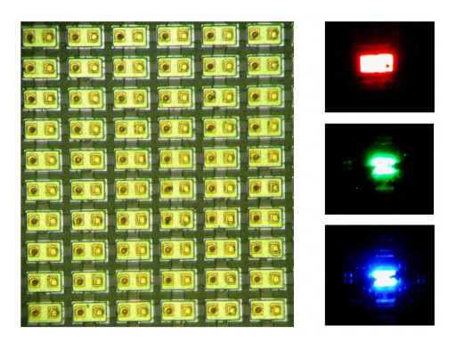 VueReal Offers a High Yield Flipchip microLED Structure for  Lower Cost Displays for Automotive, Wearable, and TVs