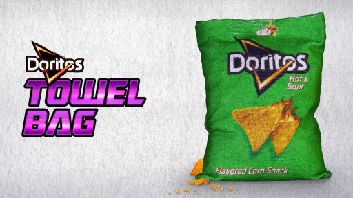 The First Ever Doritos Towel Bag by Strauss Frito Lay