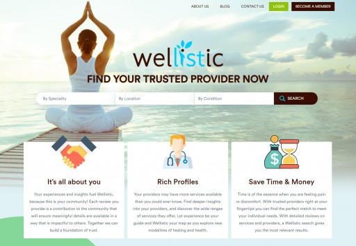 Wellistic Launches Healthcare Review Community for the Triangle Area