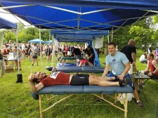 Massage therapy after racing events T